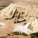Abu Simbel built by the Pharoh Ramses II.