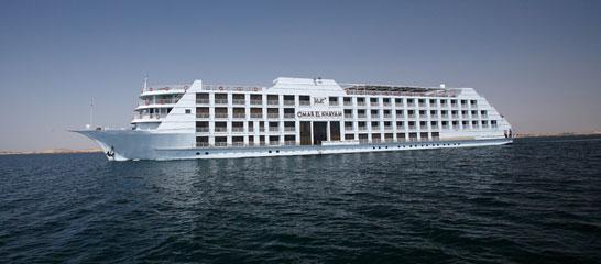 MS Jaz Omar El Khayam Lake Nasser Cruise