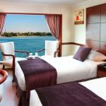 M/S Amwaj Living Stone Nile Cruise Cabin