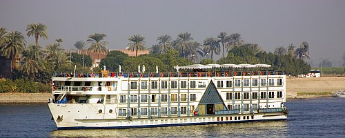 Egypt Nile Cruise 4 Days 3 Nights Nile Cruise Package from Aswan to Luxor on M/S Princess Sarah Nile Cruise every Friday