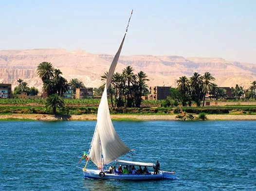2 Nights Nile Felucca Traditional Sailing Boat on Full Board Basis and 1 Night Luxor Includes Sightseeing