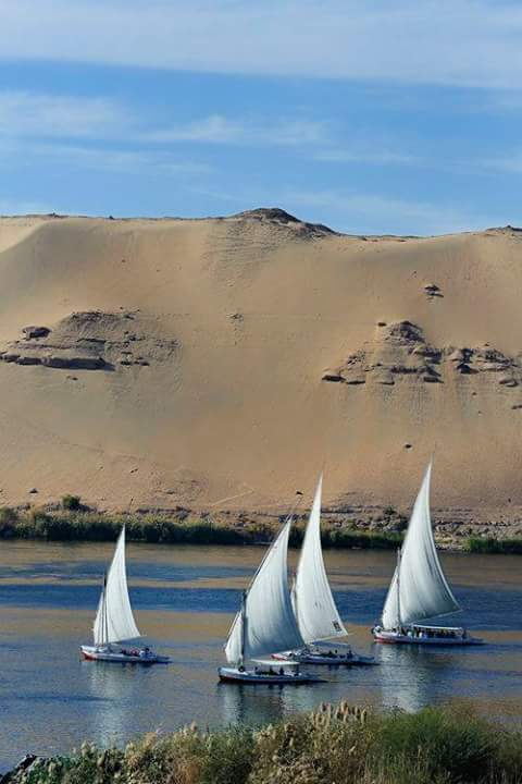 2 Nights Aswan / 2 Nights Nile Felucca Adventure Sailing Boat / Kom Ombo / Edfu / 2 Nights Luxor 7 Days 6 Nights