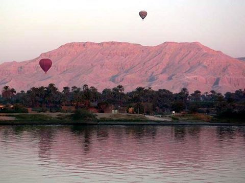 Hot Air Balloon Ride Trip in Luxor Egypt
